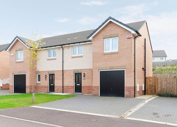 Thumbnail 3 bed semi-detached house for sale in Buttercup Crescent, Cambuslang, Glasgow, South Lanarkshire