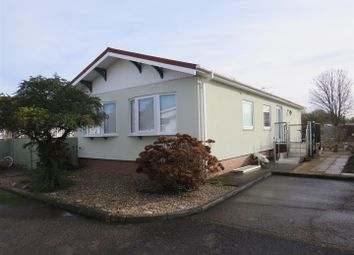 Thumbnail 3 bed mobile/park home for sale in Bedwell Park, Witchford, Ely