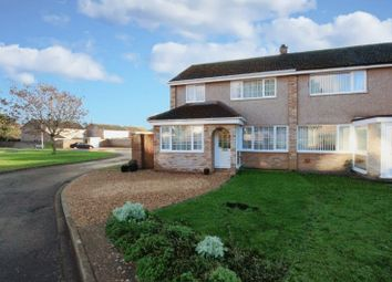 Thumbnail 3 bed semi-detached house for sale in The Hornbeams, Kempston