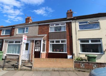Thumbnail 2 bed terraced house for sale in Hinkler Street, Cleethorpes