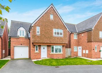 Thumbnail 4 bed detached house for sale in Sheen Gardens, Manchester