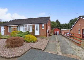 Thumbnail 2 bedroom semi-detached bungalow for sale in Kinloch Close, Crewe