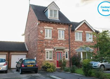 Thumbnail 3 bed town house for sale in Burleigh Rise, Tuxford, Newark