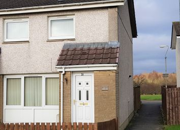 Thumbnail 2 bedroom end terrace house to rent in Alloway Wynd, Newarthill, Motherwell