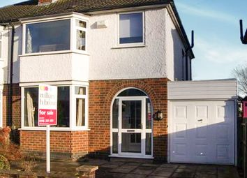 Thumbnail 3 bedroom semi-detached house for sale in Wynfield Road, Western Park, Leicester