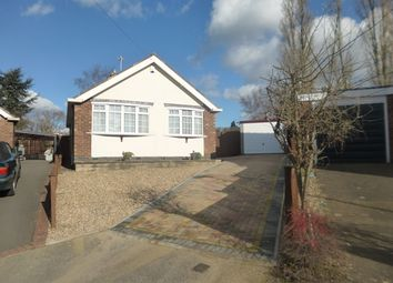 Thumbnail 2 bedroom detached bungalow for sale in 36, Fairestone Avenue, Glenfield, Leicestershire