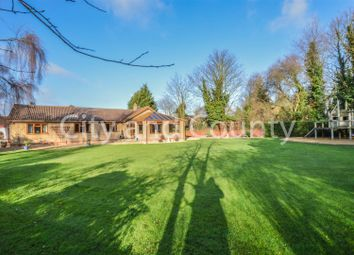 Thumbnail 4 bed detached bungalow for sale in Postland Road, Crowland, Peterborough