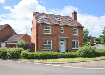 Thumbnail 5 bed detached house for sale in Wynwards Road, Swindon, Wiltshire