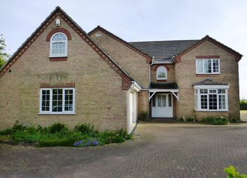 Thumbnail 5 bedroom detached house for sale in School Close, Turves, Peterborough