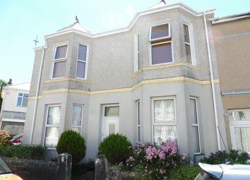 Thumbnail 1 bed flat for sale in Rowden Street, Plymouth