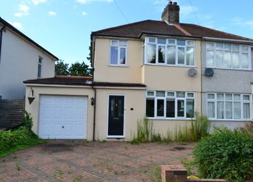 Thumbnail 3 bedroom end terrace house for sale in Eddy Close, Romford