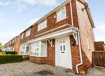 Thumbnail 3 bed semi-detached house for sale in Frederick Terrace, Durham, County Durham