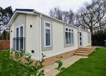 Thumbnail 2 bed mobile/park home for sale in Mytchett Farm Park, Mytchett Road, Mytchett, Camberley