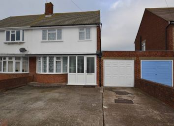 Thumbnail 3 bed semi-detached house to rent in Astaire Avenue, Eastbourne