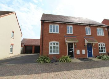 Thumbnail 3 bed semi-detached house for sale in Cranley Crescent, Aylesbury