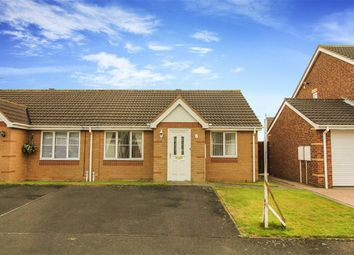 Thumbnail 2 bed bungalow for sale in Lavender Court, Ashington, Northumberland