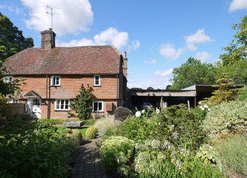 3 bed semi-detached house for sale in Tonbridge Road, Shipbourne, Tonbridge TN11