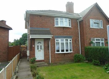 Thumbnail 3 bed semi-detached house to rent in Victoria Avenue, Bloxwich, Walsall