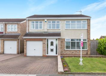 Thumbnail 4 bed detached house for sale in Brandon Close, Hartlepool