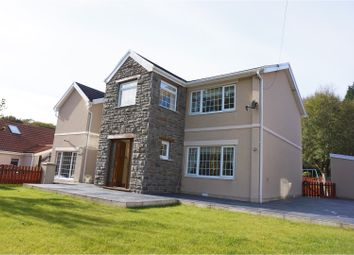 Thumbnail 4 bed detached house for sale in Reservoir Road, Ebbw Vale