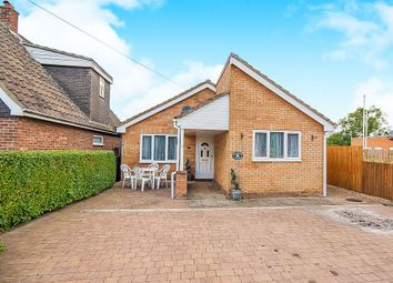 Thumbnail 3 bed detached bungalow for sale in London Road, Yaxley, Peterborough