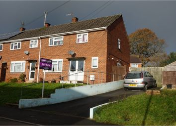 Thumbnail 4 bed end terrace house for sale in Elmore Way, Tiverton