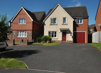 Thumbnail 4 bedroom detached house for sale in Ellis Peters Drive, Aqueduct, Telford, Shropshire