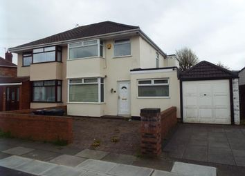 Thumbnail 3 bed terraced house for sale in Merton Crescent, Liverpool, Merseyside, England