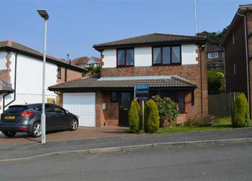 Thumbnail 4 bed detached house for sale in Newnham Crescent, Swansea