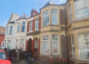 Thumbnail 4 bedroom terraced house to rent in Dogfield Street, Cathays, Cardiff
