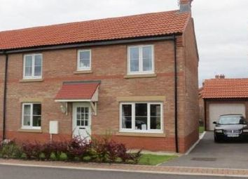 Thumbnail 3 bed semi-detached house to rent in Heather Court, Norton, Malton