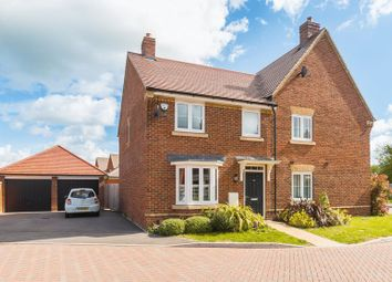 Thumbnail 3 bed semi-detached house for sale in Barnett Road, Steventon, Abingdon