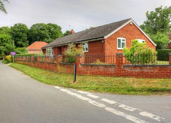 Thumbnail 4 bedroom detached bungalow for sale in Oaks Lane, Postwick, Norwich