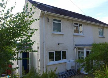 Thumbnail 4 bed semi-detached house for sale in Brynglas Road, Aberystwyth, Ceredigion