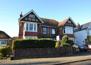 Thumbnail 3 bed flat for sale in Wykeham Road, Worthing, West Sussex