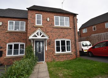 Thumbnail 3 bed semi-detached house to rent in Lakeshore Crescent, Whitwick, Coalville