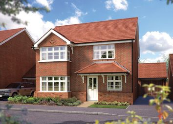"Thumbnail 4 bed detached house for sale in ""The Canterbury"" at Mayfield Way, Cranbrook, Exeter"