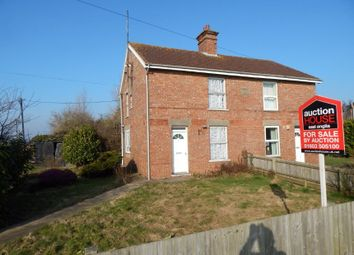 Thumbnail 2 bedroom semi-detached house for sale in 12 Newgate Road, Tydd St Giles, Wisbech, Cambridgeshire