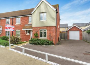 Thumbnail 4 bed semi-detached house for sale in Hull Way, St. Neots