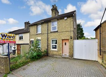 Thumbnail 2 bed end terrace house for sale in Rochester Road, Burham, Kent