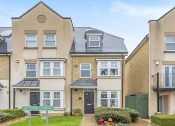 Thumbnail 4 bed semi-detached house for sale in Erickson Gardens, Bromley