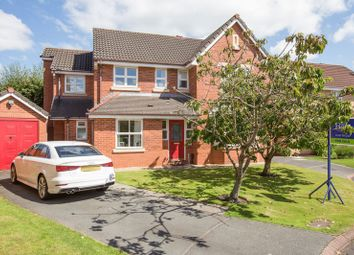 Thumbnail 5 bedroom detached house for sale in Water Drive, Standish, Wigan