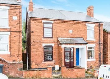 Thumbnail 2 bedroom semi-detached house to rent in New Street, North Wingfield, Chesterfield