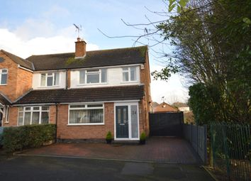 Thumbnail 3 bed semi-detached house for sale in Glen Rise, Glen Parva, Leicester