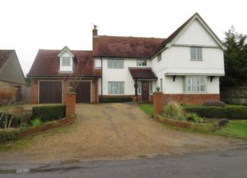 Thumbnail 5 bedroom detached house for sale in Brettenham Road, Buxhall, Stowmarket