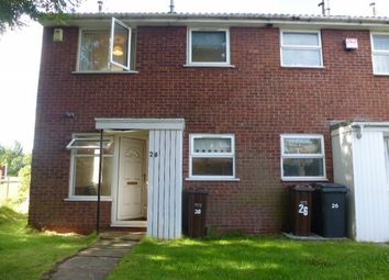 Thumbnail 1 bed terraced house to rent in Marholm Close, Pendeford, Wolverhampton