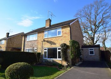 Thumbnail 3 bed semi-detached house for sale in Oakwood, Church Crookham, Fleet