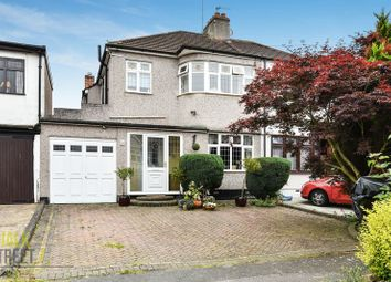 Thumbnail 3 bed semi-detached house for sale in Meadowside Road, Upminster