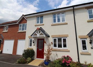 Thumbnail 3 bed terraced house for sale in Tigers Way, Axminster, Devon