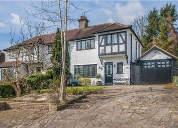 Thumbnail 3 bed semi-detached house for sale in Brighton Road, Purley, Surrey